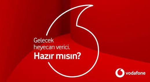 Vodafone Yeni Logo ve Slogan