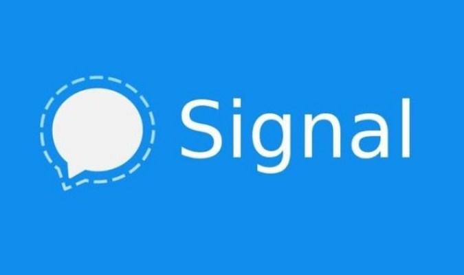 Aplikasi Pesan Singkat - Signal
