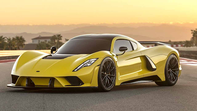 The Hennessey Venom F5 promises to be the fastest car in the world