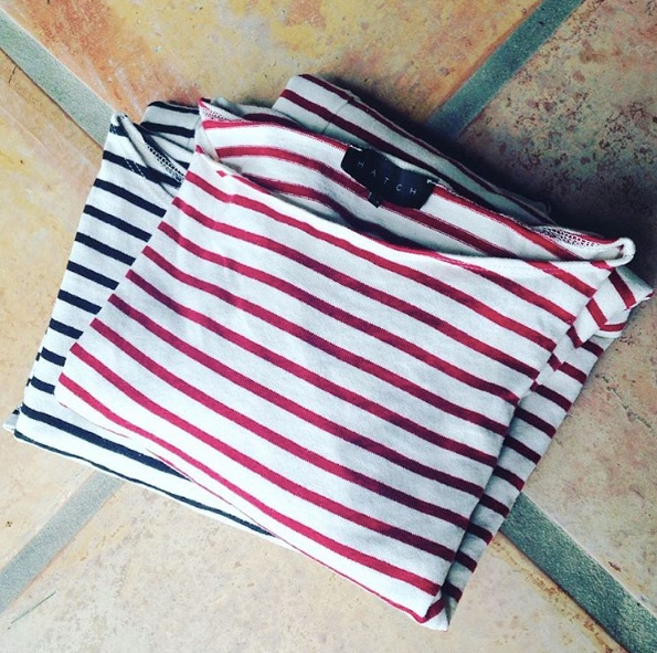 hatch striped top