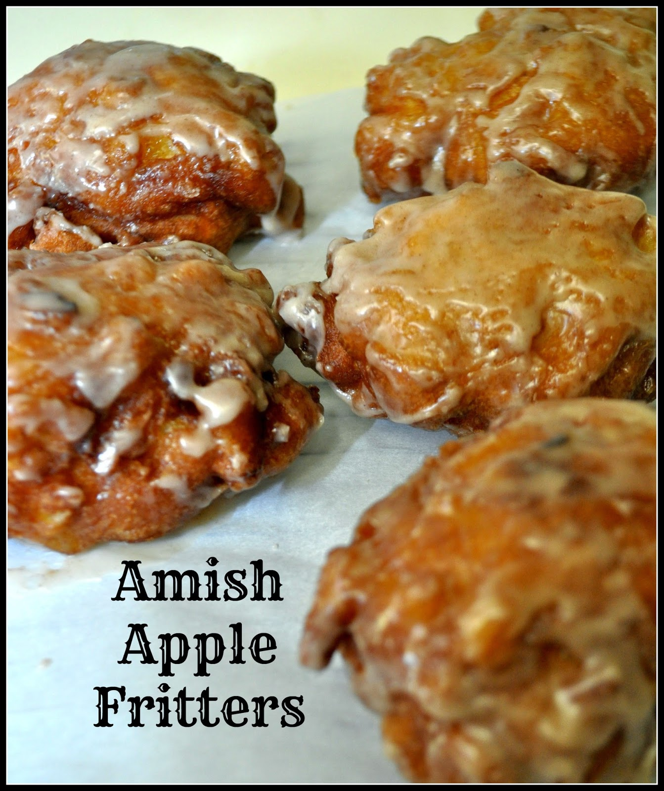 Amish Apple Fritters The Grateful Girl Cooks