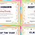Recognition, Graduation, Moving Up (Award Certificates) EDITABLE