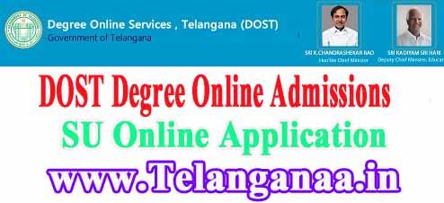 Satavahana University Degree Online Admissions 2019