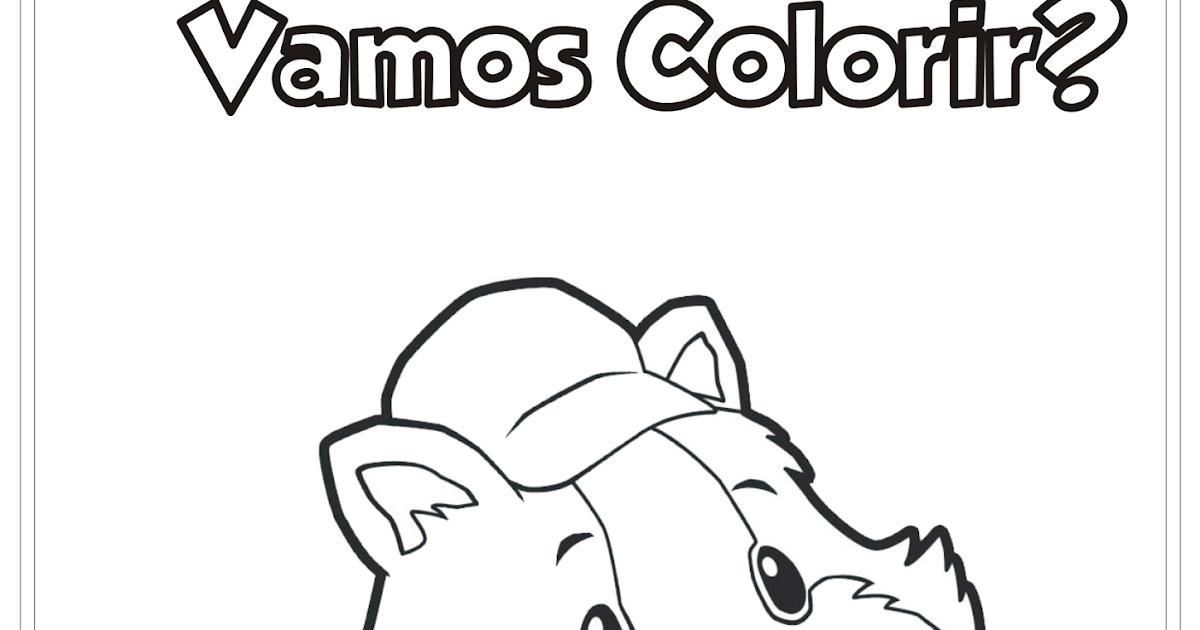 Super Fofos Desenho Para Colorir