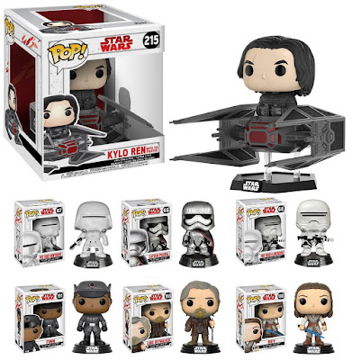 Star Wars: The Last Jedi Pop! Vinyl Figures by Funko