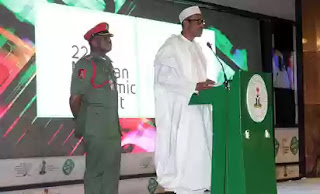 President Buhari attends Nigerian Economic Summit 2016 Abuja