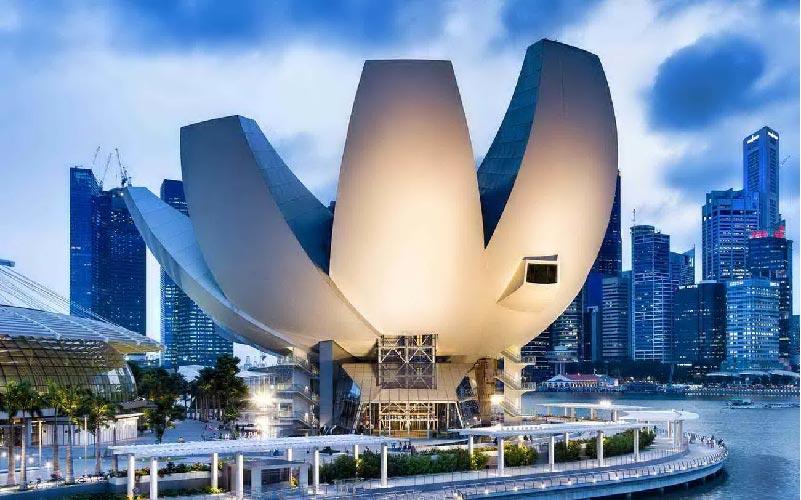 ArtScience Museum di Singapore