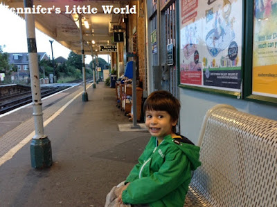 A day out in London with my son