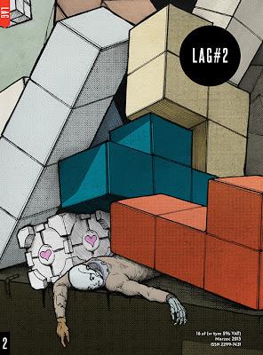 Okładka drugiego numeru magazynu LAG.