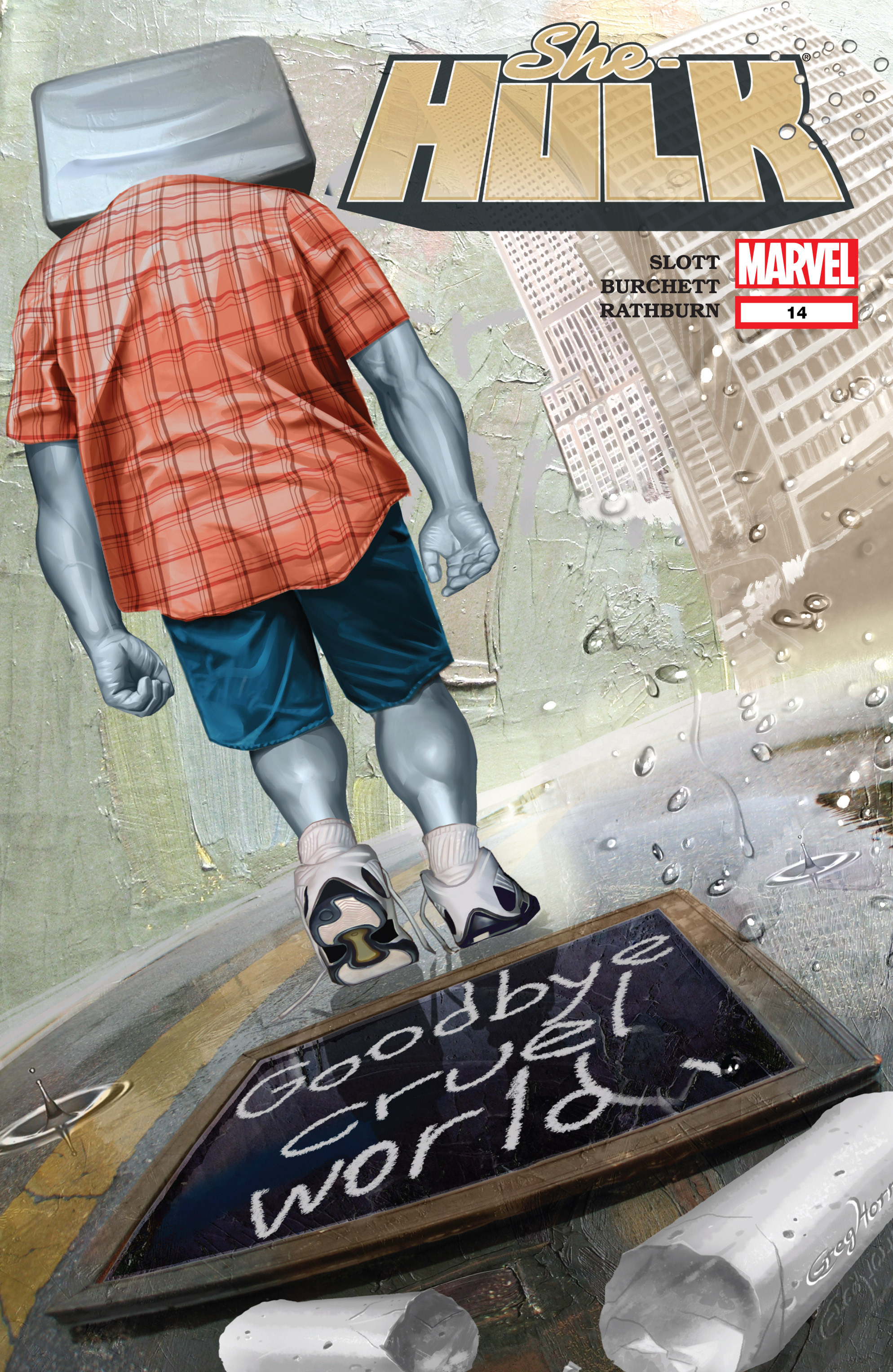 Read online She-Hulk (2005) comic -  Issue #14 - 1