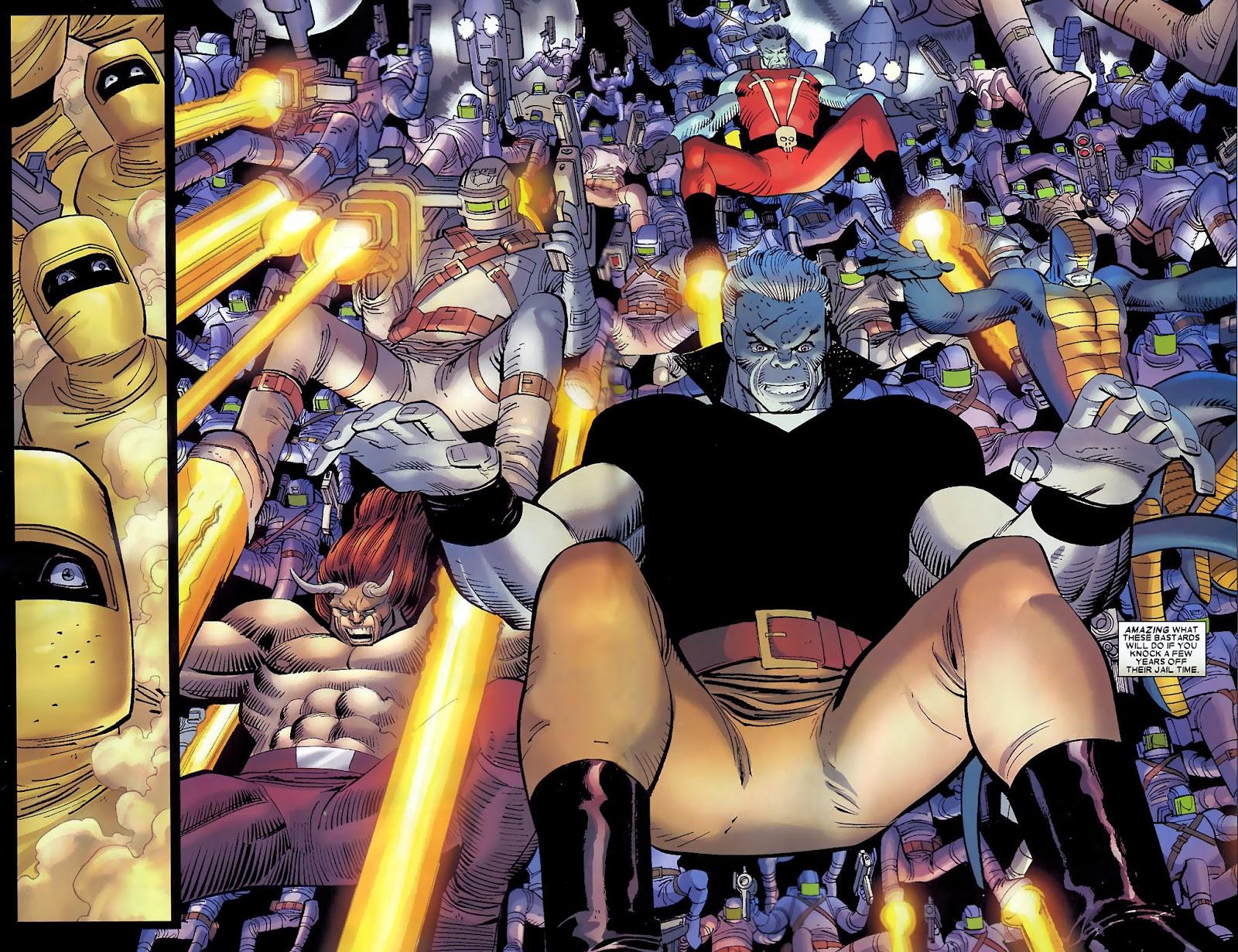 Read online Wolverine (2003) comic -  Issue #30 - 11