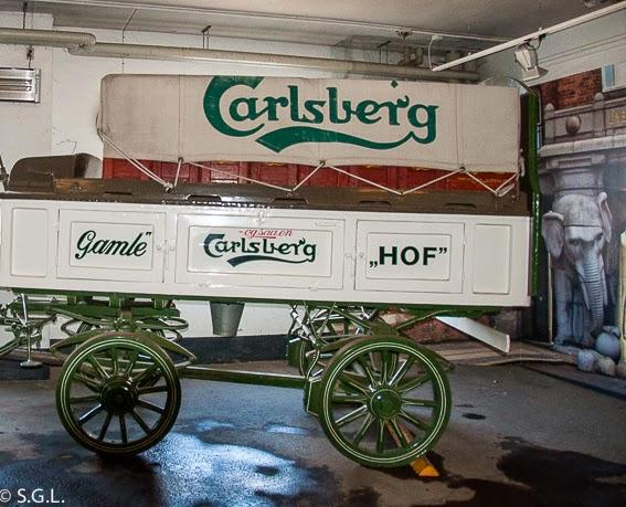 Carromato de la Fabrica de Carlsberg en Copenhague