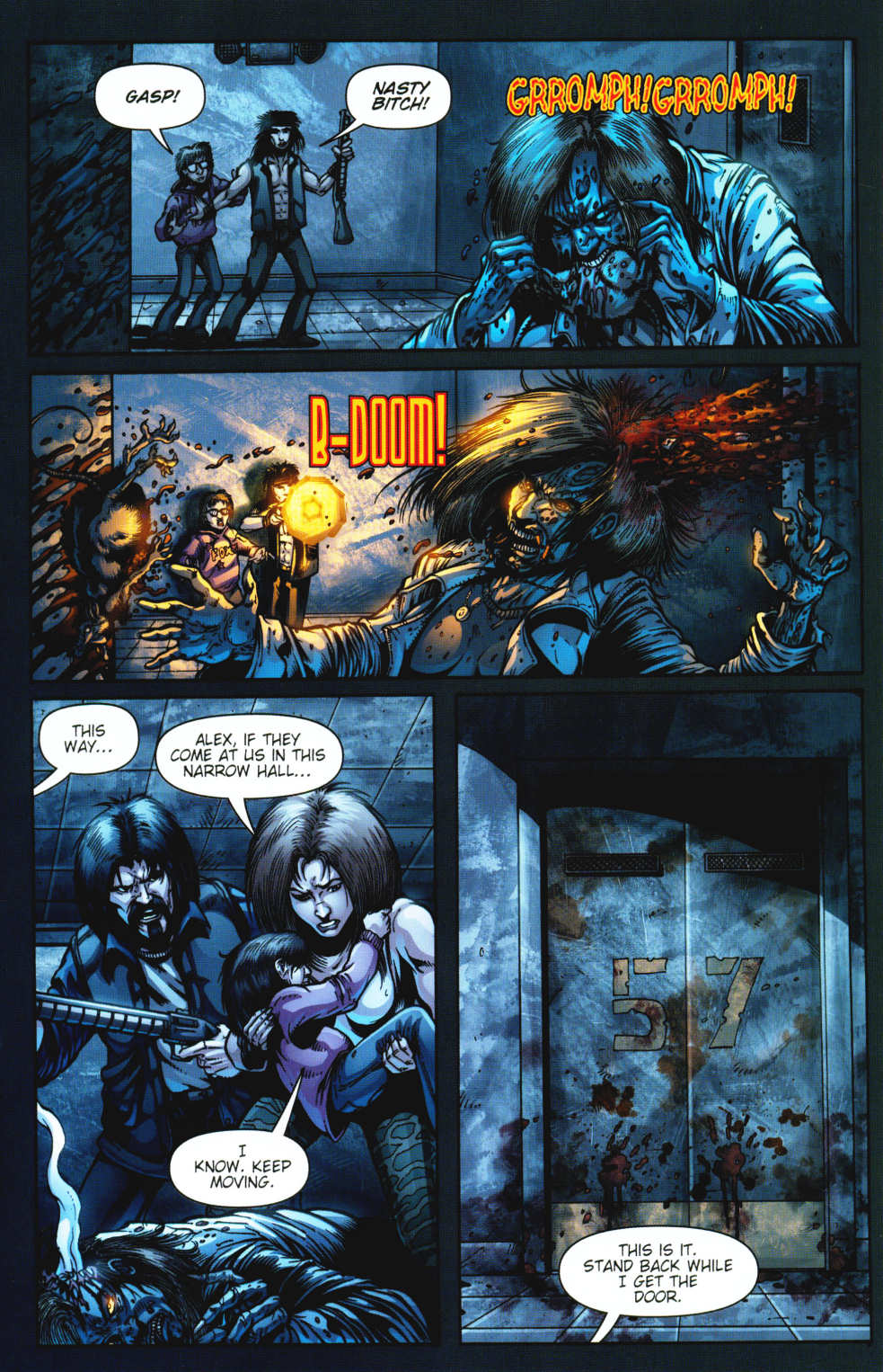 Read online Night of the Living Dead: Barbara's Zombie Chronicles comic -  Issue #3 - 8