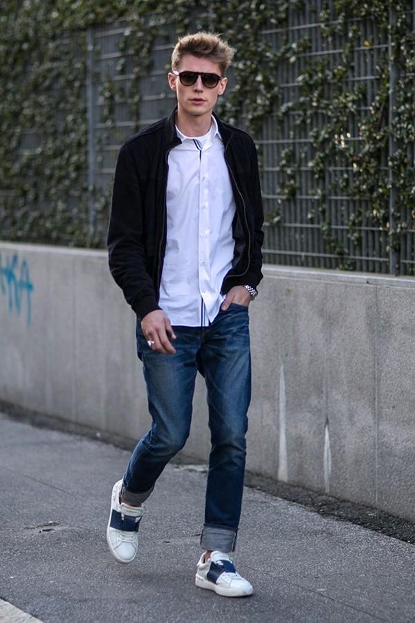 cách chọn quần jeans nam cho người chân ngắn