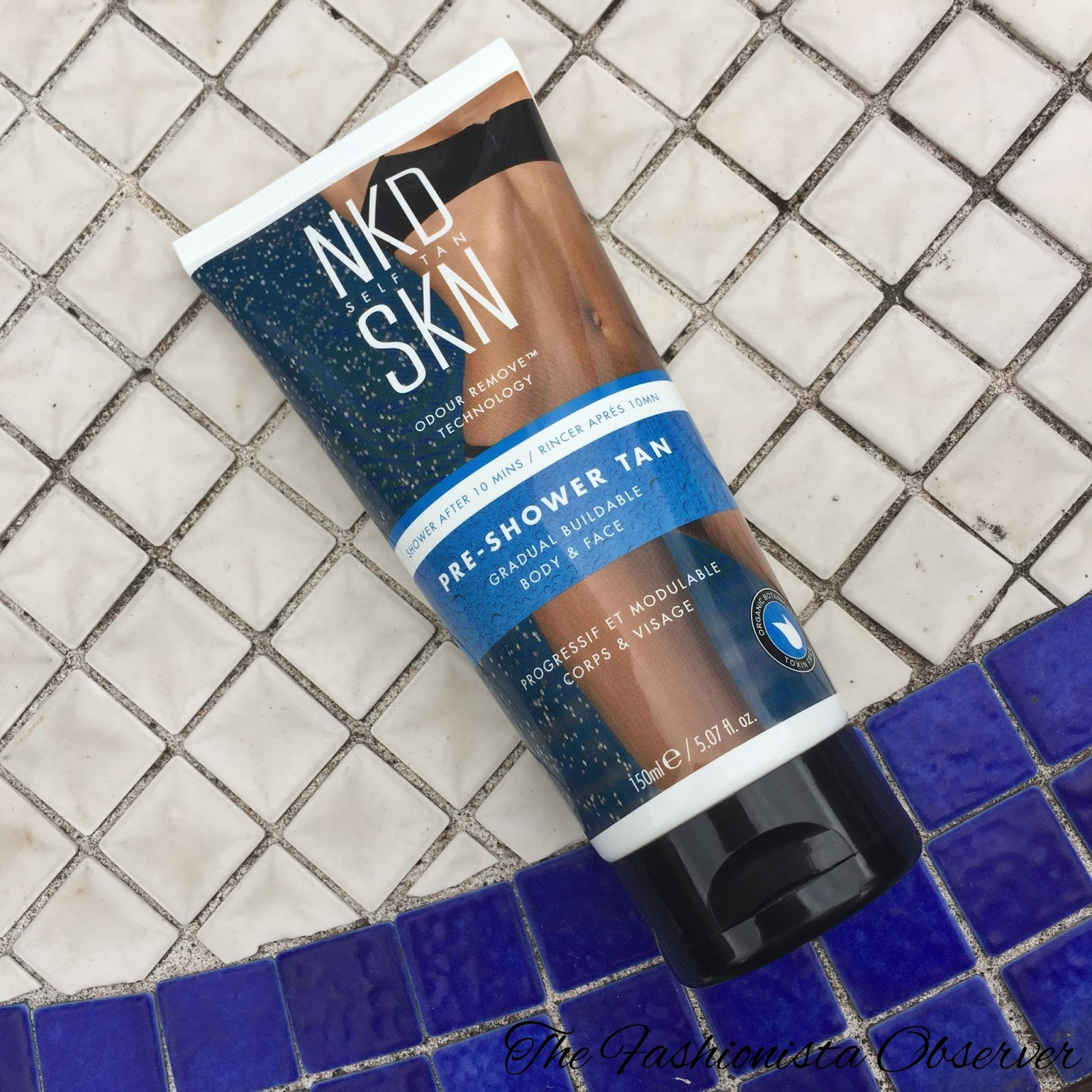 NKD SKN Pre-Shower Tan Review - Can You Shower & Tan? The Fashionista Observer Irish Fashion and Beauty Blog
