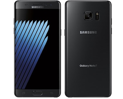 Dropping Galaxy Note 7