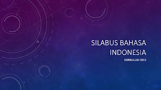 Pedomaan Pelajaran Bahasa Indonesia Tingkat SMA/SMK oleh Kementerian Pendidikan dan Kebudayaab Jakarta Tahun 2016 (Bagian Kedua)