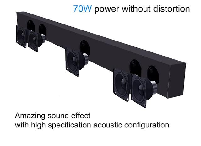 Mecool KS1 DVB T / T2 Soundbar TV Box