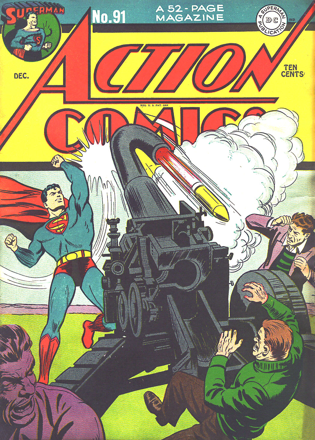 Read online Action Comics (1938) comic -  Issue #91 - 1