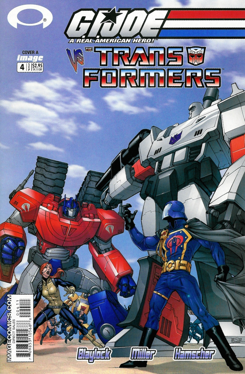 not a hoax! not a dream!: g.i. joe vs. the transformers #4