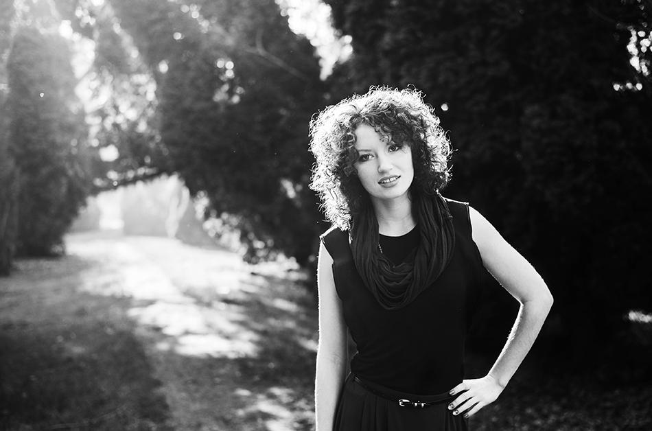 Black and white - sesja kobieca z Sylwią | Lublin | Park Ludowy