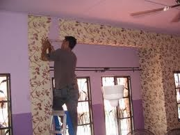 Cara pasang wallpaper sendiri di dinding rumah dan kamar - Cara pasang wallpaper ...