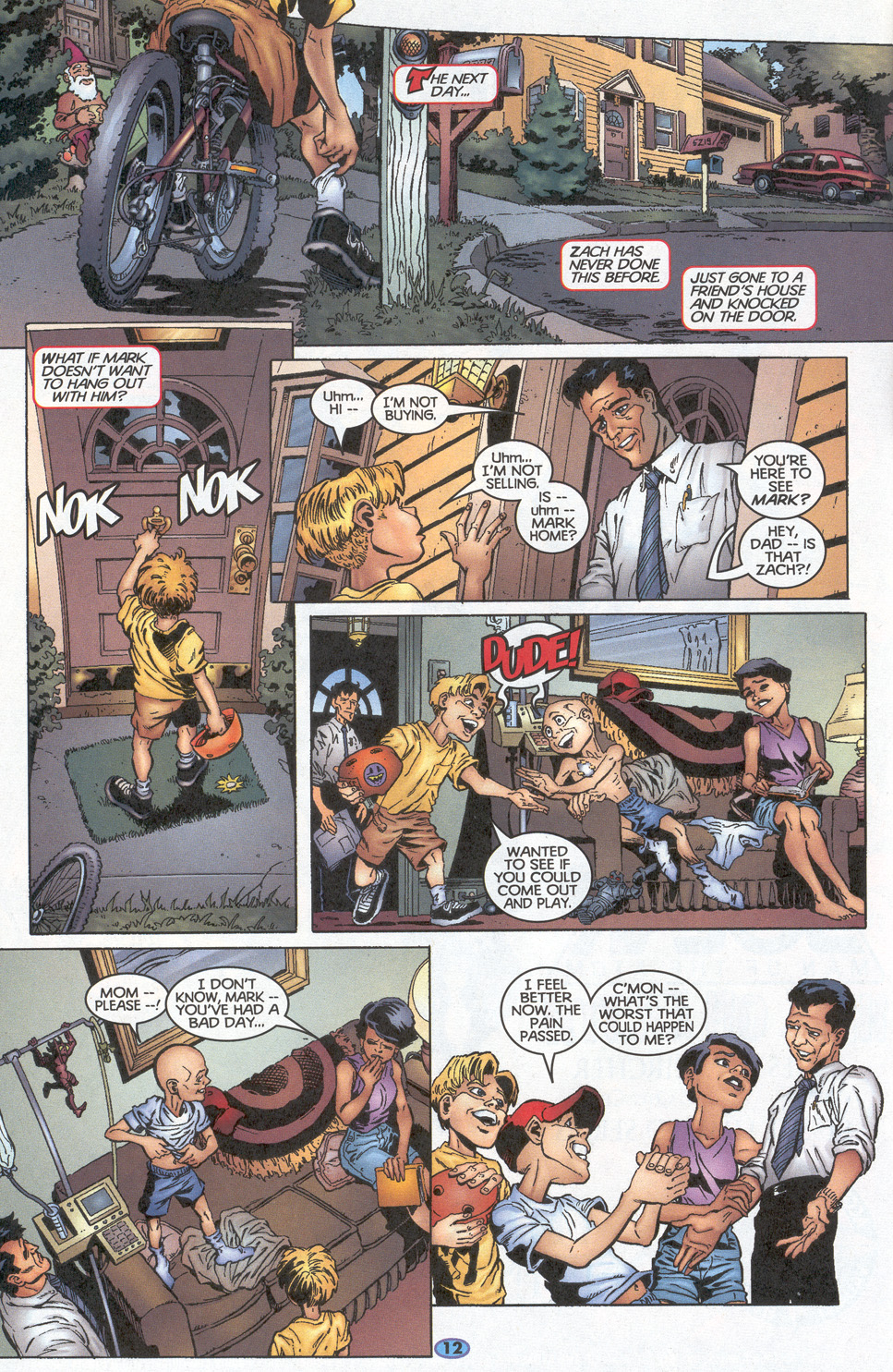 Read online Troublemakers comic -  Issue #10 - 10
