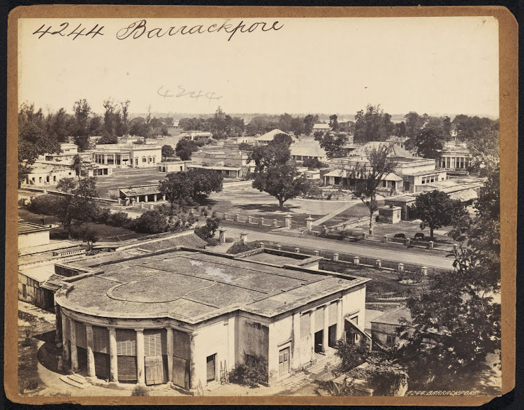 View of Barrackpore - 19th Century