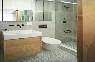 Baño funcional pequeño
