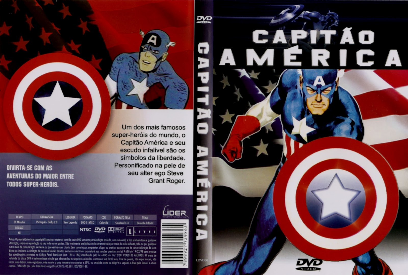 PZ C: capitão america