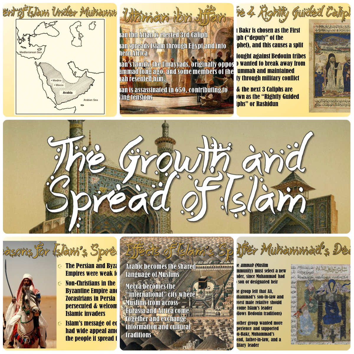 Students Of History Islam Growth Amp Spread Of Islamic