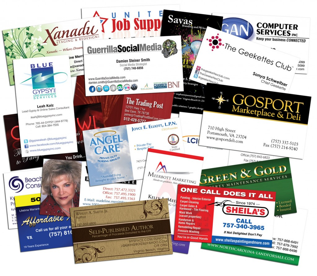 Business Cards Printing Service Offering Multiple Benefits - Exam ...
