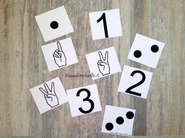 || Activités de reconnaissance des chiffres et des nombres