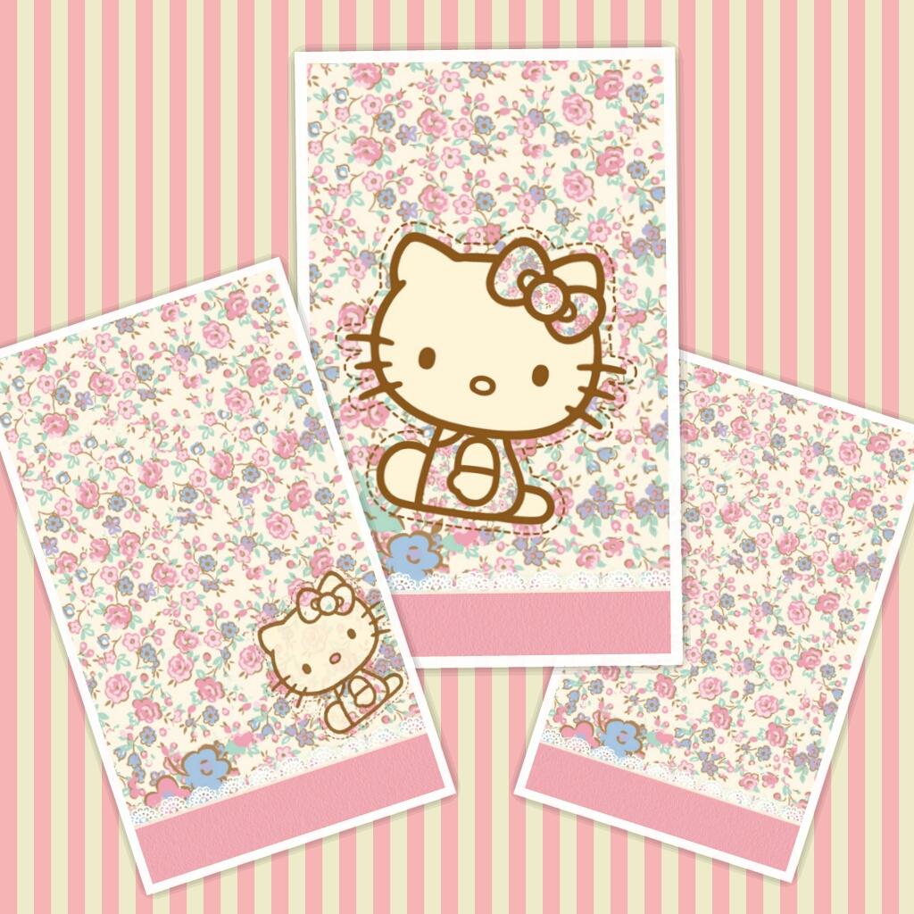 Wonderful Wallpaper Hello Kitty Floral - PhotoGrid_1376681284248  Image_78924.jpg