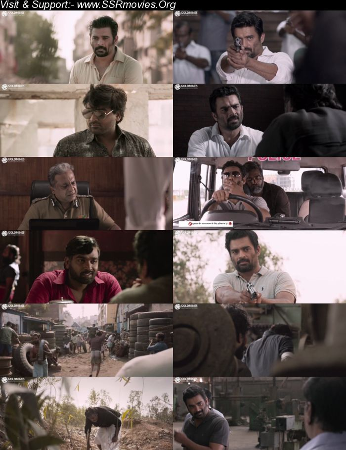 Vikram Vedha (2018) Hindi Dubbed 720p HDRip