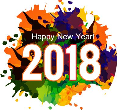 happy new year 2018 abstract hd images
