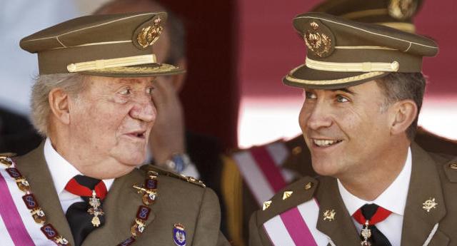 El Congreso veta siete preguntas de IU sobre la fortuna del rey Juan Carlos y su familia