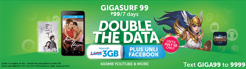 Smart Intros Revamped GIGASURF 99 With Bigger 3 GB Data
