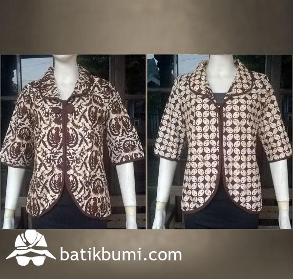 Bolero Bolak Balik Batik Printing DBT 085