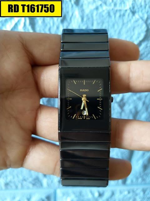 Đồng hồ nam mặt chữ nhật Rado RD T161750