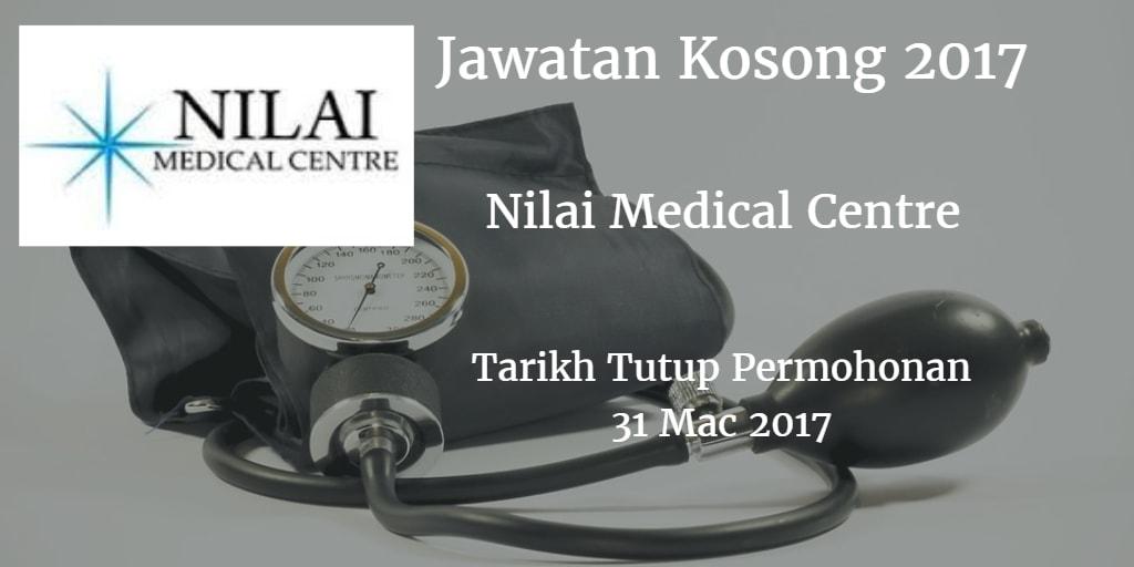 Jawatan Kosong Nilai Medical Centre 31 Mac 2017