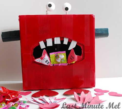 DIY Monster Valentine Box 4   The Joy Of Boys