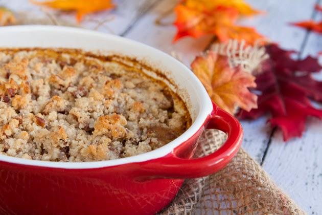 Pumpkin Spice Latte Quinoa Breakfast Casserole image