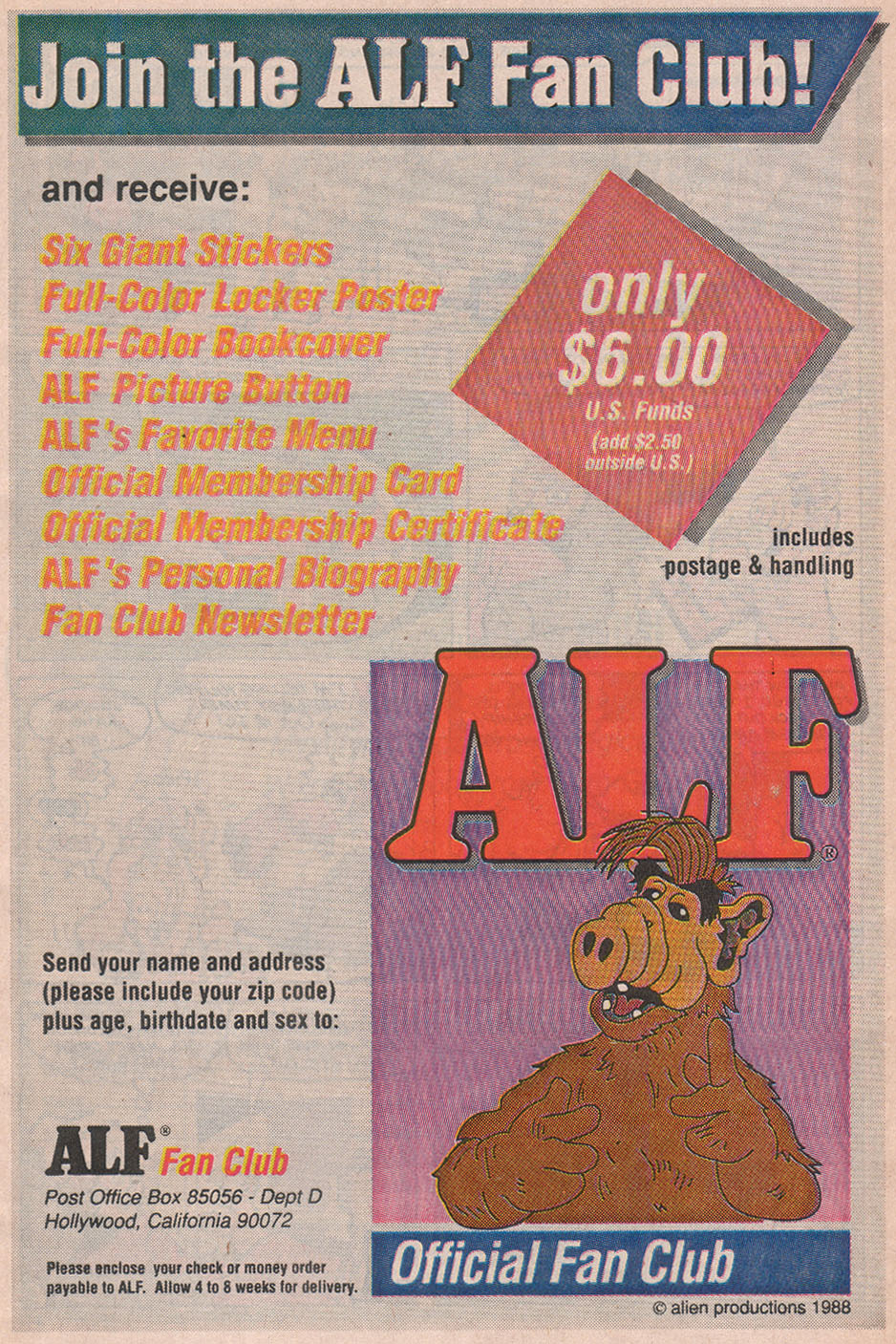 Read online ALF comic -  Issue #12 - 7