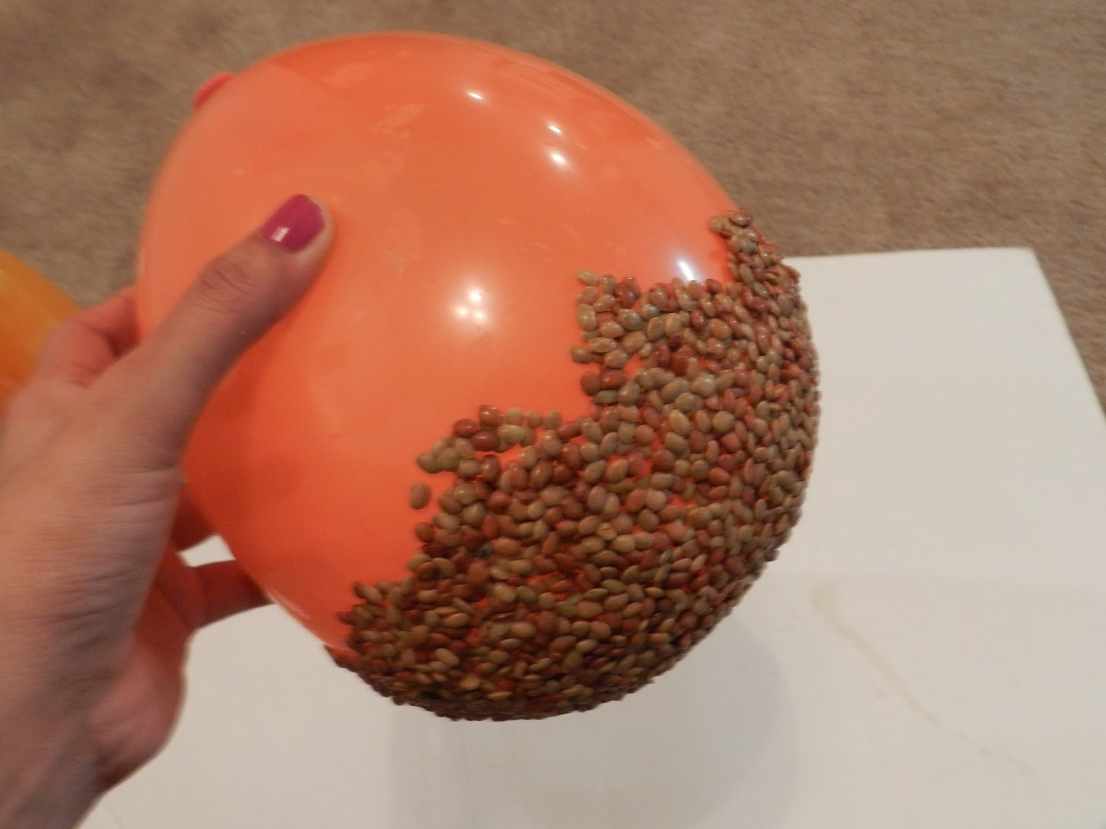 Creative DIY Crafts Balloon Bowl With Gram Dhal