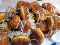 Τραγανές τηγανιτές φούσκες με κασέρι! - by https://syntages-faghtwn.blogspot.gr