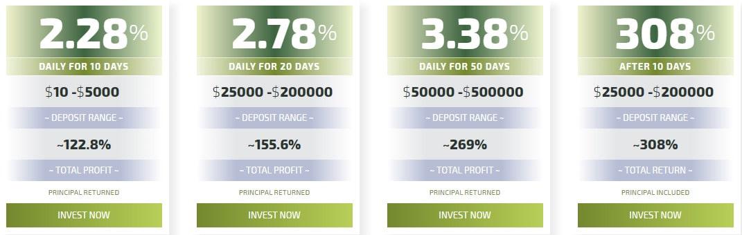 Инвестиционные планы Legiry