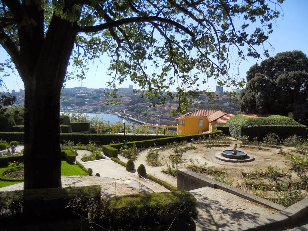 Jardins Do Palácio De Cristal Porto Portugal