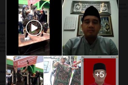 Setelah Viral Video Kampanye-nya Joget di Depan Masjid injak Sajadah, Caleg PDIP ini Akhirnya Minta Maaf