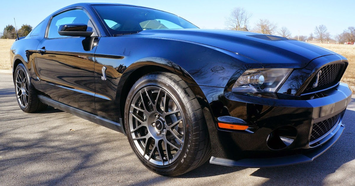 2012 Ford Mustang Shelby Cobra GT500